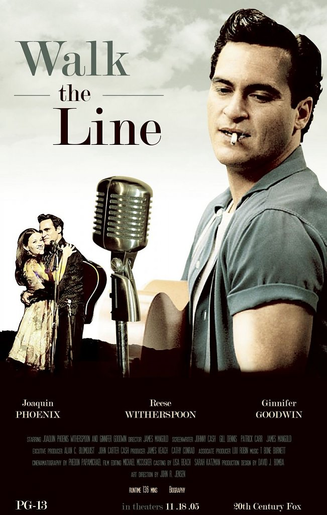 "Poster ""Walk the Line"" (Foto: Twentieth Century Fox)"