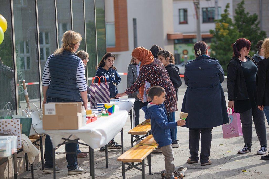 Bibliotheksfest (Foto: Vincent Eisfeld, Stadtbibliothek)