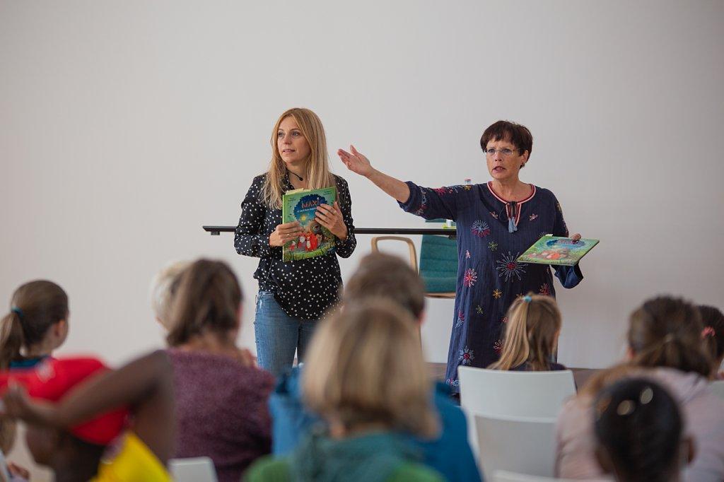 Bibliotheksfest - Lesung mit Tanja Mairhofer  (Foto: Vincent Eisfeld, Stadtbibliothek)