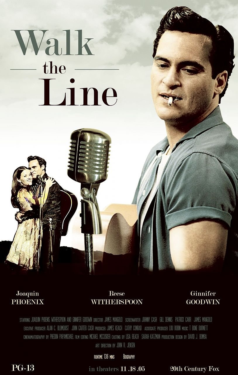 "Poster ""Walk the Line"" (Foto: ©20th Century Fox)"