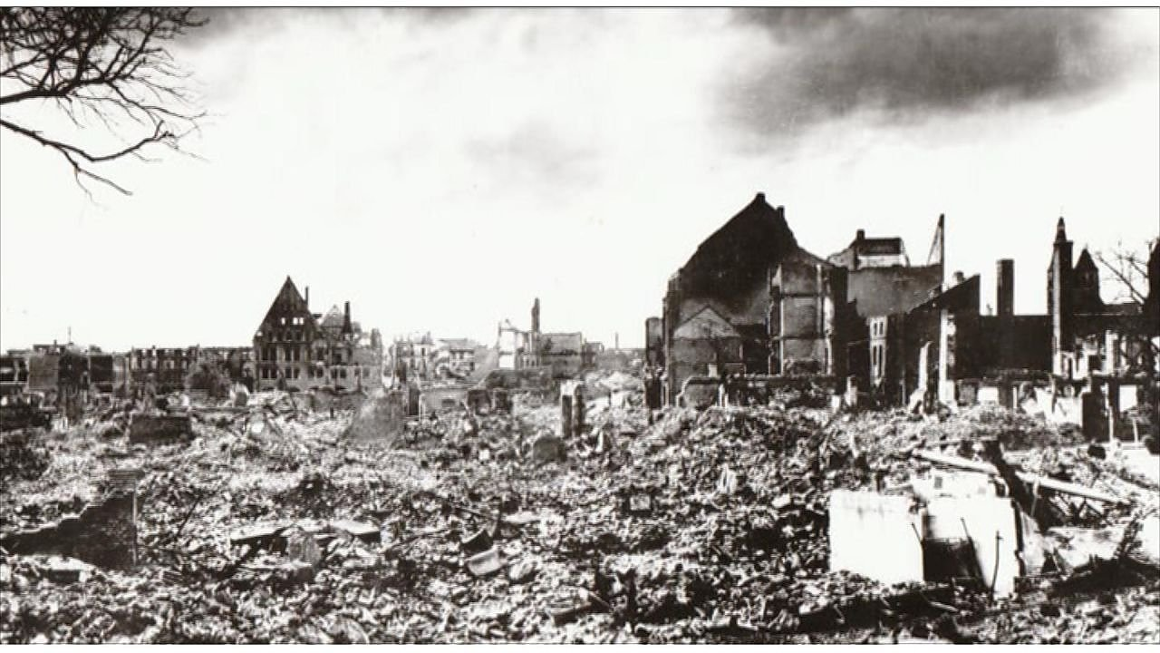 Nordhausen im April 1945 (Foto: Stadtarchiv)