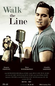 "Poster ""Walk the Line"""